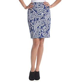 MICHAEL Michael Kors® Printed Pencil Skirt