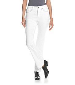 Earl Jean® Cross Bling Slim Boot Cut Jeans