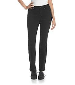 Earl Jean® Black Scroll Bling Boot Cut Jean