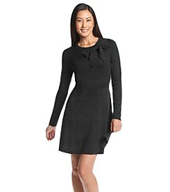Jessica Howard® Petites' Bow Sweater Dress
