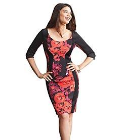 Sangria™ Panel Scuba Dress