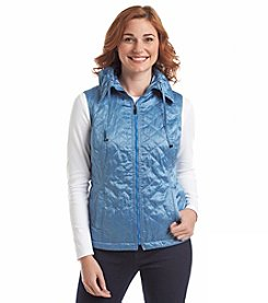 Laura Ashley® Petites' Quilted Vest