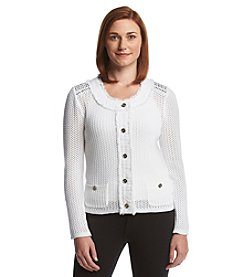 Laura Ashley® Sweater Jacket
