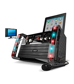 Akai Karaoke Machine with LED display and Color LED Light Effect