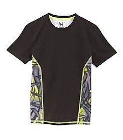 Mambo® Boys' 8-20 Short Sleeve Front Back Tee