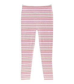 Squeeze Girls' 7-16 Geo Lined Print Leggings
