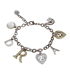 Sandra Magsamen® Two Tone Dream Charm Bracelet