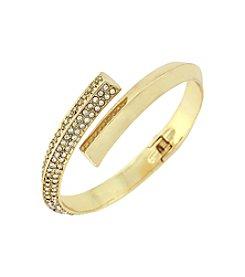 BCBGeneration™ Goldtone Triangle Wire Bracelet