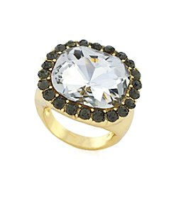 BCBGeneration™ Goldtone Cocktail Ring