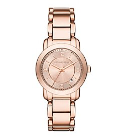 Michael Kors® Womens Rose Goldtone Janey Watch With Rose Dial