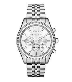 Michael Kors® Men's Silvertone Lexington Watch