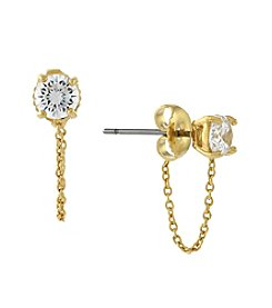 Vince Camuto™ Goldtone Stud Earrings