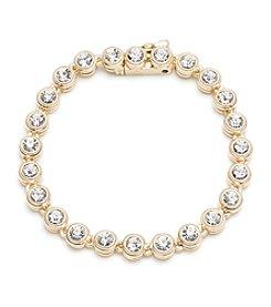 Anne Klein® Goldtone Line Bracelet