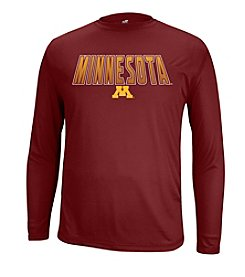 NCAA® Minnesota Men's 3D Long Sleeve Tee
