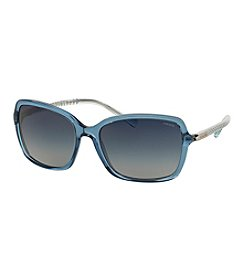 COACH BEAD CHAIN SQUARE SUNGLASSES