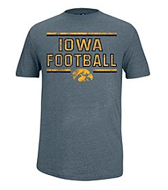 NCAA® Iowa Men's Prime Football Slub Short Sleeve Tee