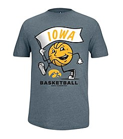 NCAA® Iowa Prime Basketball Slub Short Sleeve Tee