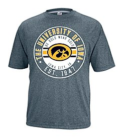 NCAA® Iowa Men's Heathered Vital Short Sleeve Tee