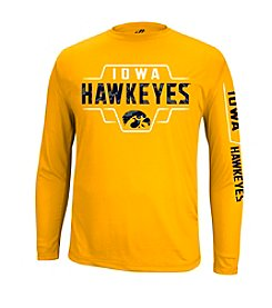 NCAA® Iowa Men's Call Out 3D Long Sleeve Tee