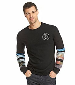Buffalo by David Bitton Men's Long Sleeve Graphic Tee