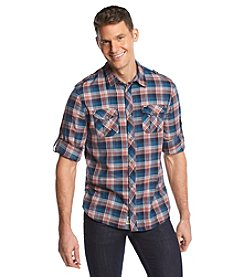 Buffalo by David Bitton Men's Long Sleeve Plaid Woven Button Down