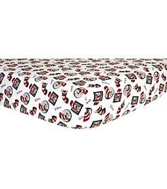 Trend Lab Dr. Seuss® Cat in the Hat Flannel Crib Sheet