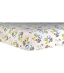 Trend Lab Dr. Seuss® ABC Flannel Crib Sheet