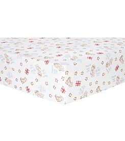 Trend Lab Paddington Bear™ Flannel Crib Sheet