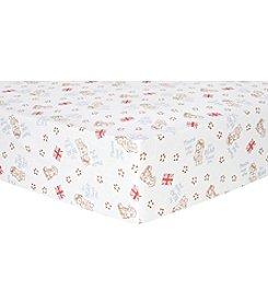 Trend Lab Paddington Bear™ Flannel Crib Sheet