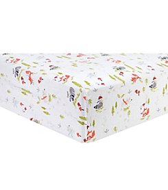 Trend Lab Winter Woods Flannel Crib Sheet