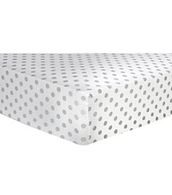 Trend Lab Dot Flannel Crib Sheet