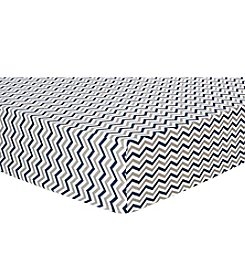 Trend Lab Chevron Deluxe Flannel Crib Sheet