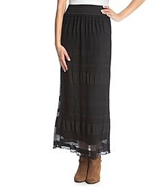 Adiva Mesh Maxi Skirt