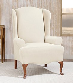 Sure Fit® Morgan Wing Chair Slipcover