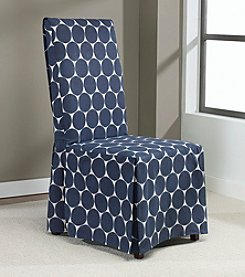 Sure Fit® Ikat Dot Dining Room Chair Slipcover