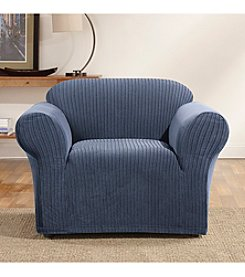 Sure Fit® Ribbon Stripe Chair Slipcover