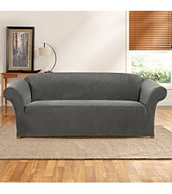 Sure Fit® Ribbon Stripe Loveseat or Sofa Slipcover
