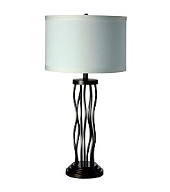 Ore International™ Metal Curves Table Lamp