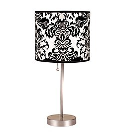 Ore International™ Printed Shade Table Lamp