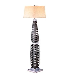 Ore International™ Painted Wood Floor Lamp