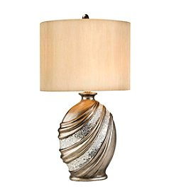 Ore International™ Silver Decorative Table Lamp