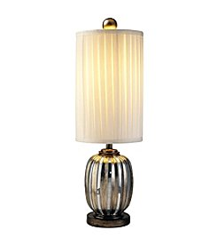 Ore International™ Metallic Tiles Table Lamp