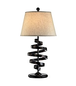 Ore International™ Modern Twist Table Lamp
