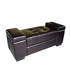 Ore International™ Open Storage Bench
