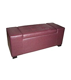 Ore International™ Unique Rectangular Storage Bench