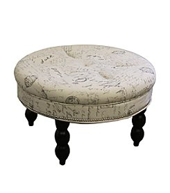 Ore International™ Old World Signature Ottoman