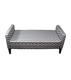 Ore International™ Chevron Storage Bench