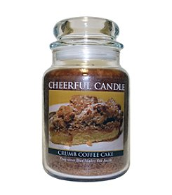 A Cheerful Giver Crumb Coffee Cake Candle