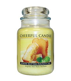 A Cheerful Giver Lemon Butter Pound Cake Candle