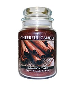 A Cheerful Giver Cinnamon Twist Candle